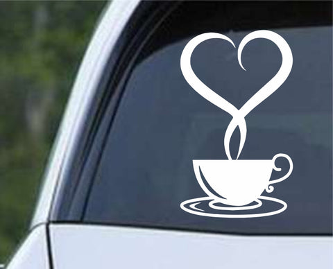 Coffee Cup ver3 Die Cut Vinyl Decal Sticker