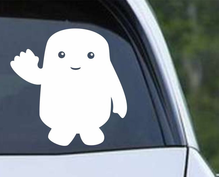 Doctor Who Adipose Die Cut Vinyl Decal Sticker - Decals City