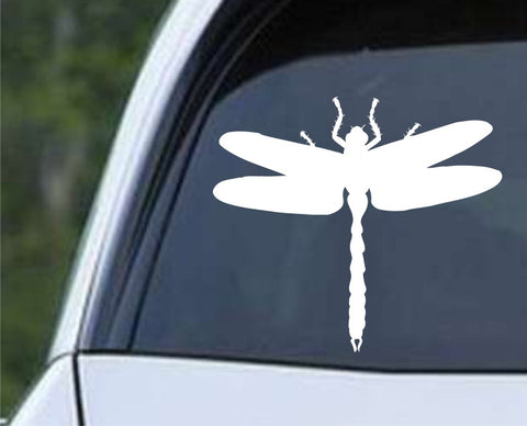 Dragonfly Silhouette (02) Die Cut Vinyl Decal Sticker - Decals City