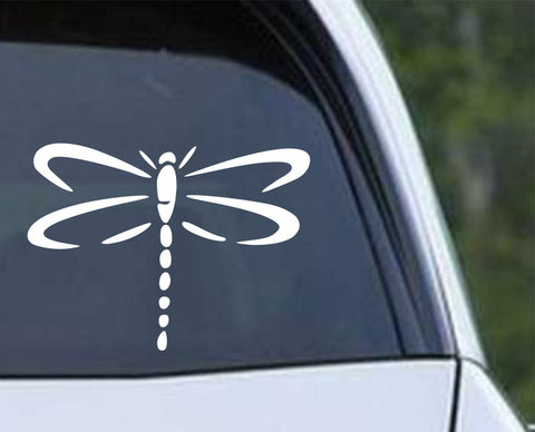 Dragonfly Silhouette (03) Die Cut Vinyl Decal Sticker - Decals City