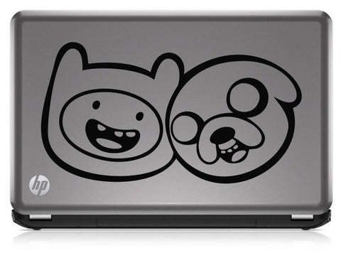 Adventure Time Finn and Jake Die Cut Vinyl Decal Sticker