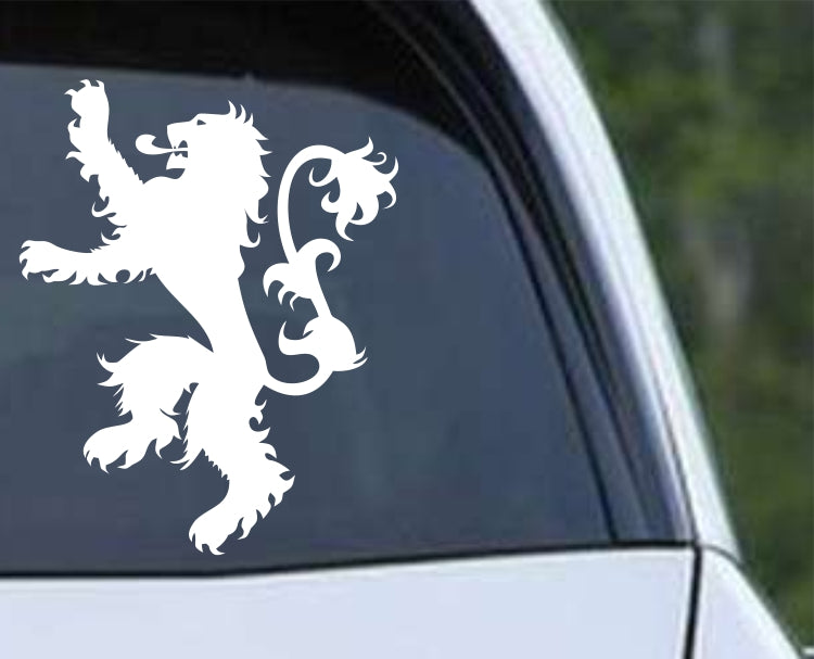 Game of Thrones House Lannister Lion Die Cut Vinyl Decal Sticker - Decals City