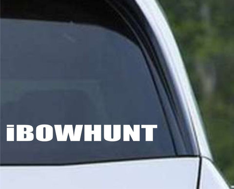 iBowhunt Funny Hunting HNT1-81 Die Cut Vinyl Decal Sticker - Decals City
