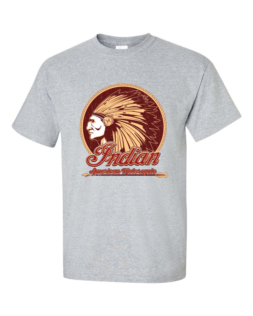 Indian Motorcycle Chief Short Sleeve T-Shirt up to 5XL - Decals City