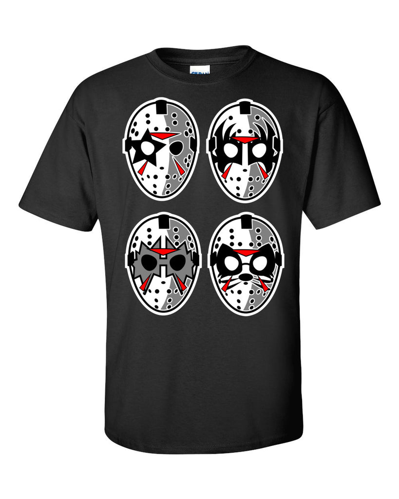 Jason Rocks Kiss Short Sleeve T-Shirt up to 5XL - Decals City