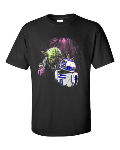 Fear The Walking Jedi Dead Funny Short Sleeve T-Shirt up to 5XL