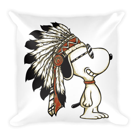 Cute Indian Dog Pillow - Decals City