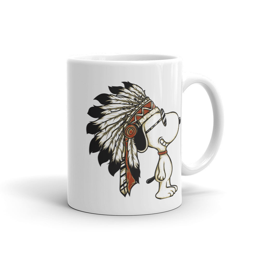 Cute Indian Dog Mug - Decals City