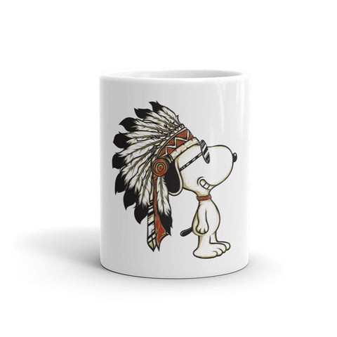 Cute Indian Dog Mug