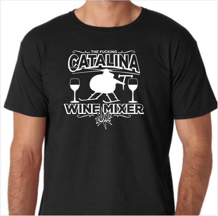 Step Brothers the F'ing Catalina Wine Mixer Custom Made T-Shirt - Decals City