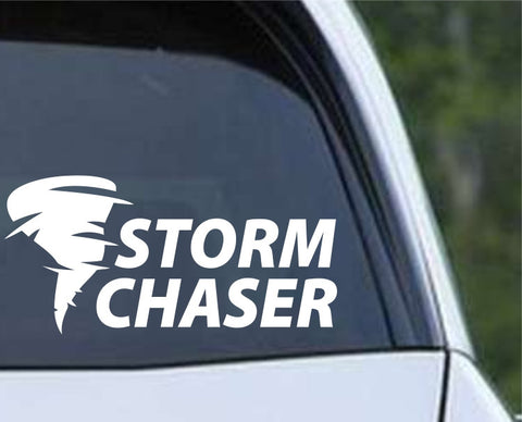 Storm Chaser Die Cut Vinyl Decal Sticker - Decals City
