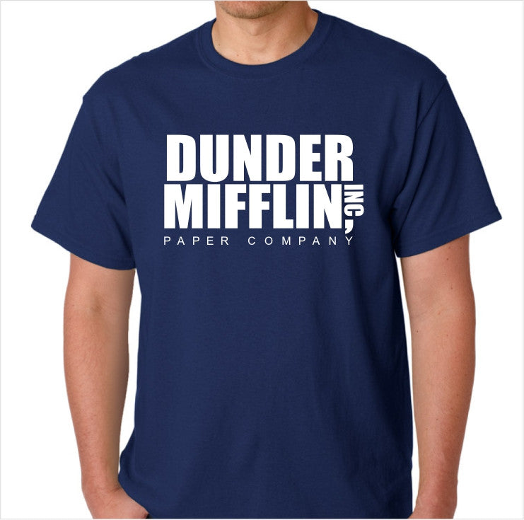 The Office Dunder Mifflin Inc Paper Company Custom Made T-Shirt - Decals City
