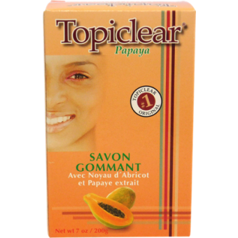 Topiclear Papaya Exfoliating Soap 7 oz