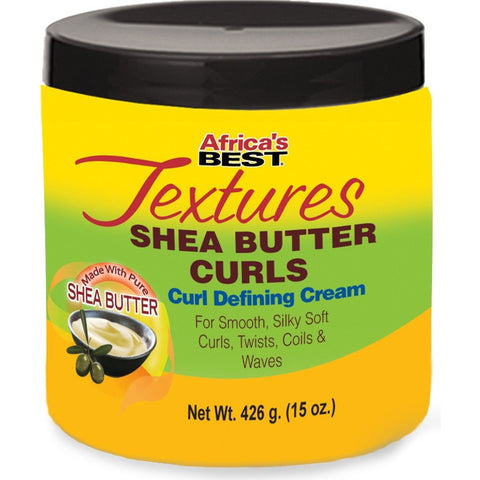 Africa's Best Textures Shea Butter Curls Curl Defining Cream - 15oz