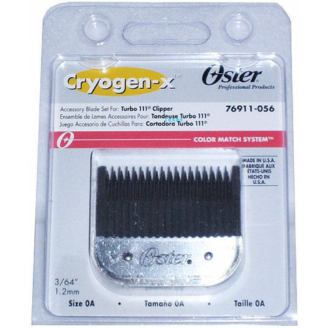 Oster Blade set for Classic 76 clippers - Size 0A - # 76918-056