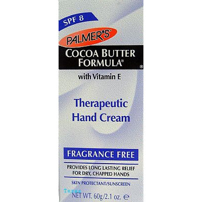 Palmers Cocoa Butter THERAPEUTIC HAND CREAM - SPF8 - 2.1oz