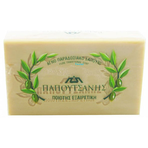Papoutsanis Olivia pure traditional soap - 125g bar #655022