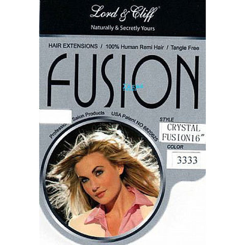 Fusion Hair Extension H/H CRYSTAL FUSION - 16inch Human Hair - 80piece