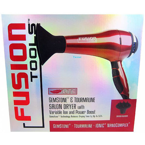 Fusion Tools Gemstone Tourmaline Salon Dryer - HTX007