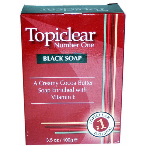 Topiclear NUMBER ONE Black Soap -  3.5oz