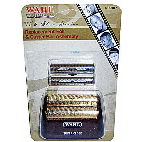 Wahl Replacement Foil and Cutter Bar Assembly #70311