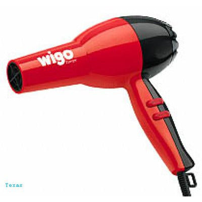 Wigo European Design Turbo Red/Black Hairdryer - WG5104
