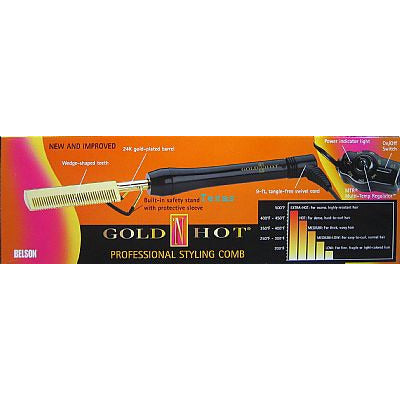 Goldn Hot Professional STYLING COMB # GH299