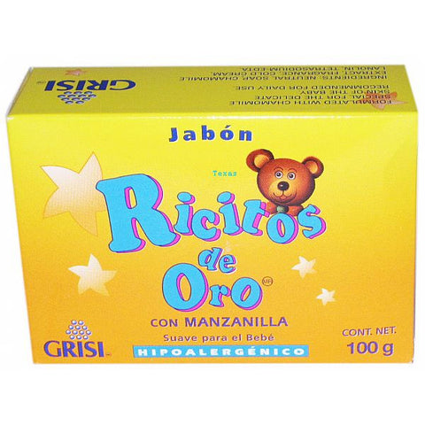 Grisi Ricitos De Oro Hypoallergenic Soft for Babies Chamomile - 3.5oz bar #23