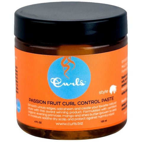 Curls Passion Fruit Curl Control paste - 4oz jar