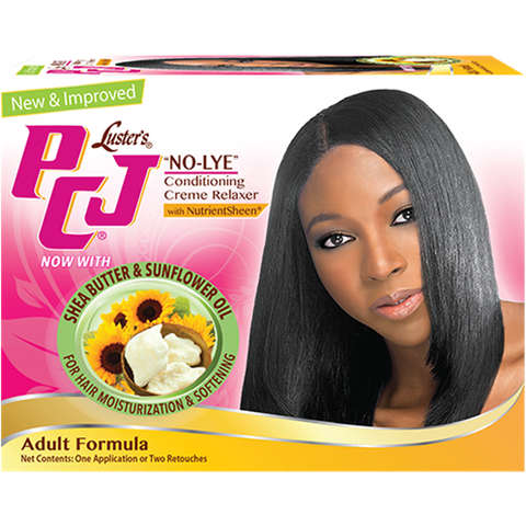 PCJ No-Lye Conditioning & Creme Relaxer Kit - Adult Formula