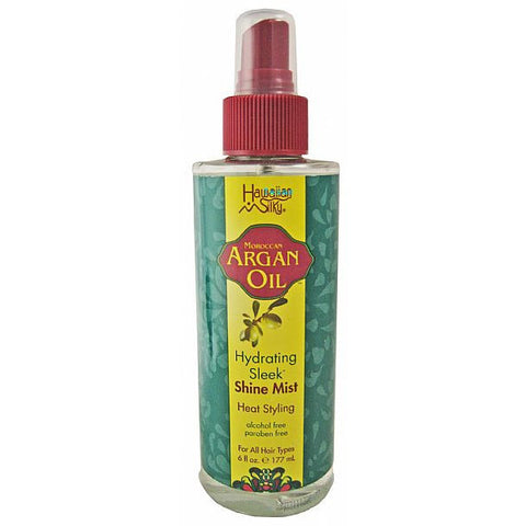 Hawaiian Silky ARGAN OIL Shine Mist - 6oz spray