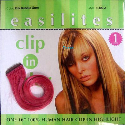 Easilites CLIP IN HIGHLIGHT 100% Human Hair 16inch highlight