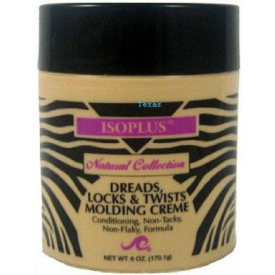 Isoplus Natural Collection Dreads Locks & Twists MOLDING CREME - 6oz jar