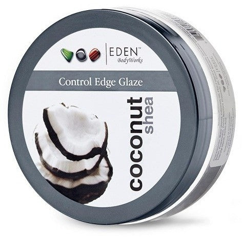EDEN Body Works Coconut Shea All Natural Control Edge Glaze - 6oz