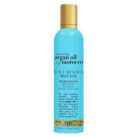 OGX Argan Oil of Morocco Voluminous Mousse - 8oz