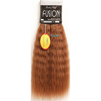 Fusion Hair Extension WET WAVE - 16inch Human Hair - 80 piece