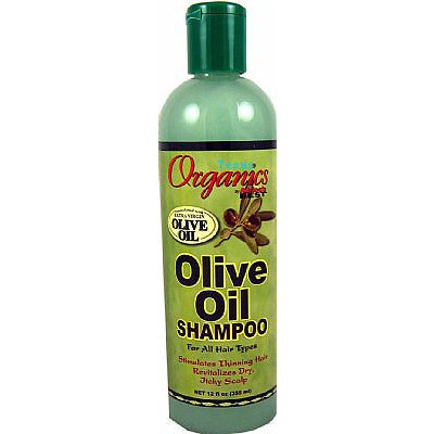 Africa Best ORGANICS Olive Oil SHAMPOO - 12oz bottle (NO CA)