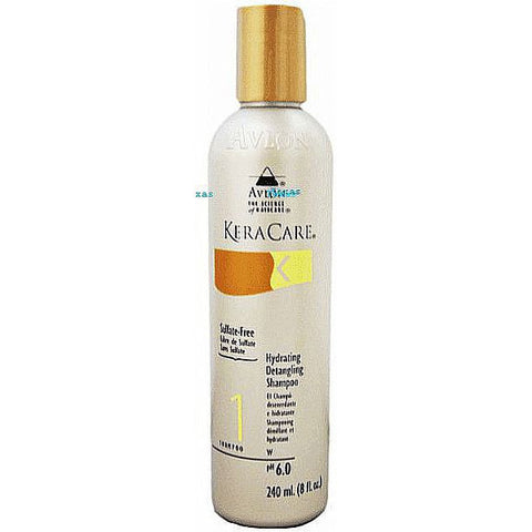 Keracare Hydrating Detangling Shampoo - 8oz bottle