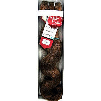Milky Way Saga AKSENT BODY WAVE 18inch WEAVING Remi Hair