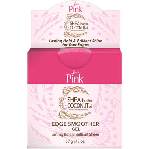 Lusters Pink Shea Butter Coconut Oil Edge Smoother Gel 2oz