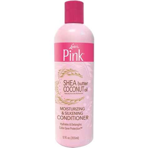 Lusters Pink  Shea Butter Coconut Oil Moisturizing & Silkening Conditioner 12oz