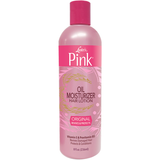 Pink OIL MOISTURIZER Hair Lotion - 16oz bottle - TexasBeautySupplies
