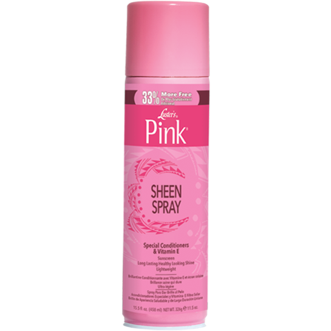 Pink SHEEN SPRAY - 11.5oz aerosal
