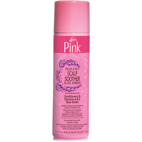 Pink Plus 2-N-1 Scalp Soother and Oil Sheen - 11.5oz aerosal
