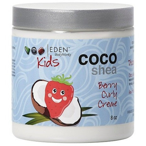 EDEN Body Works Kids Coco Shea Berry Natural Curly Creme - 8oz
