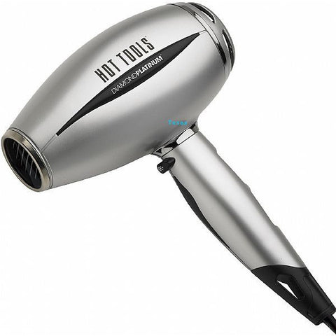 Hot Tools Diamond Platinum 1600 Watt Snub Nosed Hair Dryer - model HTP2400