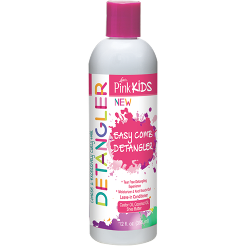 Pink Kids Easy Comb Detangler - 12oz