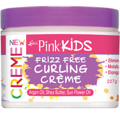 Pink Kids Frizz Free Curling Creme - 8oz