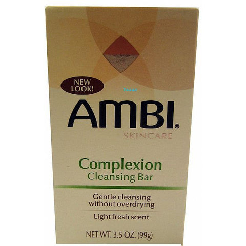 ambi COMPLEXION Cleansing Bar - 3.5 oz bar - 3 PACK