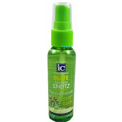 Fantasia IC Hair Polisher OLIVE Firm Hold SPRITZ - 2oz spray #1006